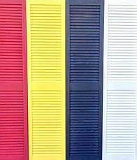 Ширма ДекоДім жалюзійна на 4 секції 200х200 см (DK1-18), фото 2