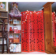 Ширма ДекоДім Анастасія на 3 секції 180х200 см (DK2-21), фото 3