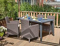 Набор садовой мебели Lima Trenton Dining Set из искусственного ротанга, фото 1