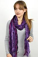 Шарф Калейдоскоп фиолетовый 170*70 (R855(13))