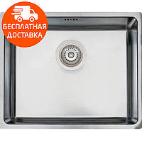 Кухонная мойка стальная Asil AS 356 Polished нержавеющая сталь
