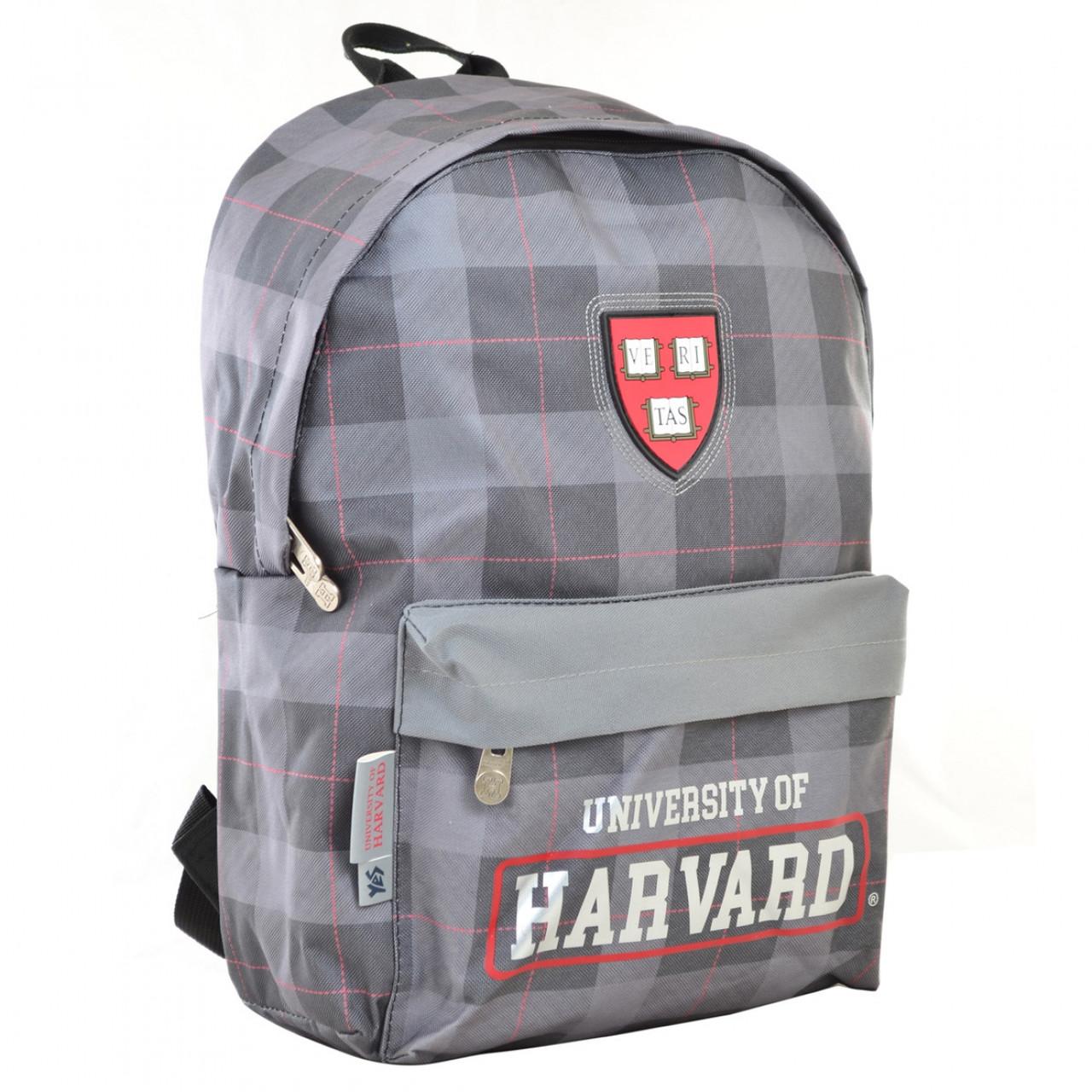 Рюкзак молодежный YES  SP-15 Harvard black, 41*30*11