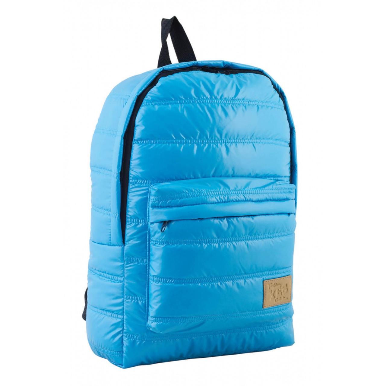 Рюкзак подростковый YES  ST-15 голубой, 39*27.5*9