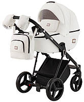 Дитяча коляска 2 в 1 Adamex MIMI шкіра 100% Q109, фото 1
