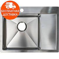 Мойка для кухни стальная Asil Hand Made AS 3069-R Light Brushed нержавеющая сталь