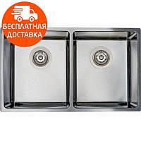 Мойка для кухни стальная Asil AS 370 Polished нержавеющая сталь
