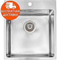 Мойка для кухни стальная Asil AS 381 Polished нержавеющая сталь