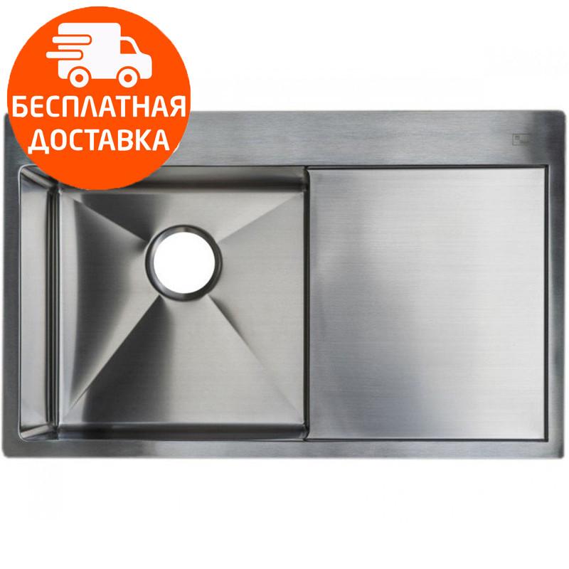 Мойка для кухни стальная Asil AS 3071-R R-12 Light Brushed нержавеющая сталь