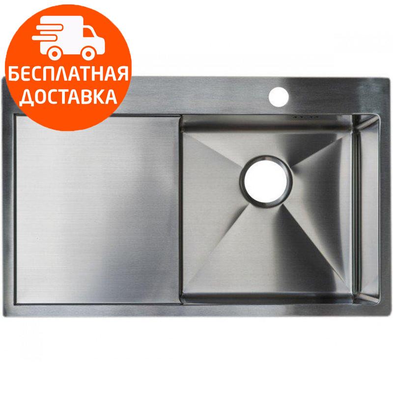 Мойка для кухни стальная Asil AS 3071-L Light Brushed нержавеющая сталь