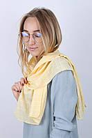 Шарф Каролина квадрат желтый 140*45 (N-17-025-WJ)