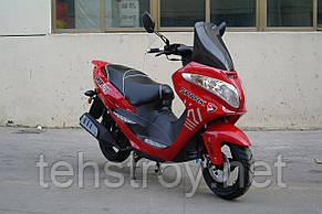 Скутер SPARK SP150S-28 (синий,черный,красный,белый) + Доставка бесплатно