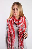 Шарф Мираж красный+розовый 140*60 (V-811 (7))