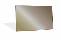Стекло закаленное НСК 100см х 100см, толщина 0.6см, тонированное бронза  сложная форма