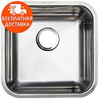 Кухонная мойка стальная Asil AS 333 Polished нержавеющая сталь