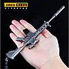 Брелок из игры PUBG M416 Assault Rifle Weapon Keychain, фото 7