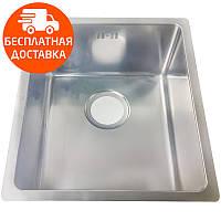 Мойка для кухни стальная Asil AS 353 Polished нержавеющая сталь