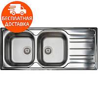 Кухонная мойка стальная Asil AS 87 Satin нержавеющая сталь