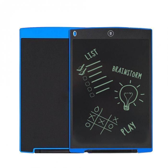 Планшет для малювання і заміток LCD Writing Tablet 12 дюймів (чорно-білий)