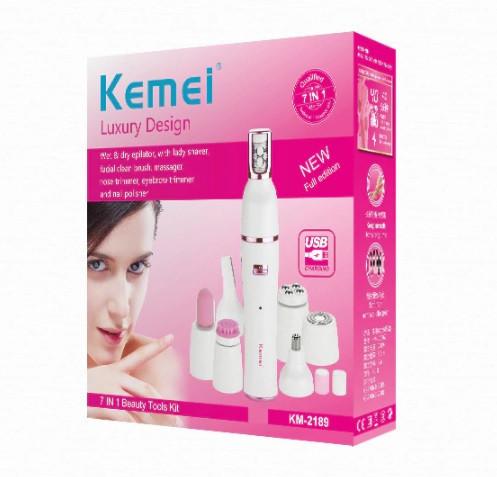 Эпилятор-триммер Kemei Km-2189