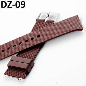 Ремешок к умным часам DZ09. Ремишкы для умных часов, Smart Watch DZ09 коричневый
