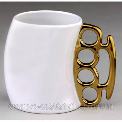 Чашка - кастет ( кружка с кастетом )