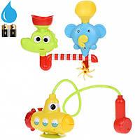 Игрушка подводная лодка для ванной с душем и фигурками, Same Toy Happy Submarine Shouwer 6869Ut