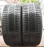 Шины б/у 245/45 R18 Pirelli Winter Sottozero 3, ЗИМА, пара, фото 2