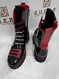 Женские осенние ботинки из натуральной кожи, фото 3