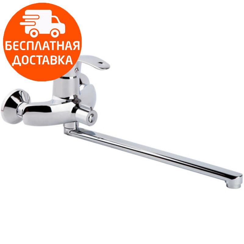 Смеситель для ванны длинный излив Touch-Z Mars 005 NEW хром