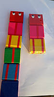 Детская игрушка кубики перекидные