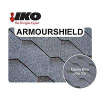 Самоклеящаяся битумная черепица IKO ⭐ ArmourShield 25 Marine Blue Ultra