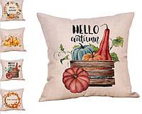 Декоративная подушка с принтом. Осень, Хеллоуин