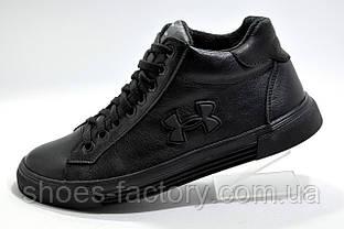 Мужские зимние ботинки в стиле Under Armour, Black