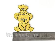 Детская нашивка коалы 50 x 72 мм, фото 3