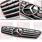 Решетка радиатора на Мерседес- Mercedes GL, ML, W124, W140, W202, W203, Sprinter, Vito