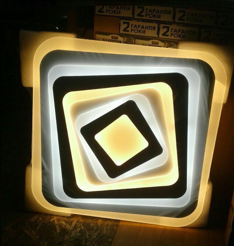 LED светильник SMART Люстра POKER 120W 500х500х30 мм