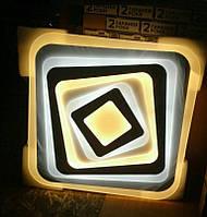SMART Люстра POKER 120W 500х500х30 мм, LED светильник, фото 1