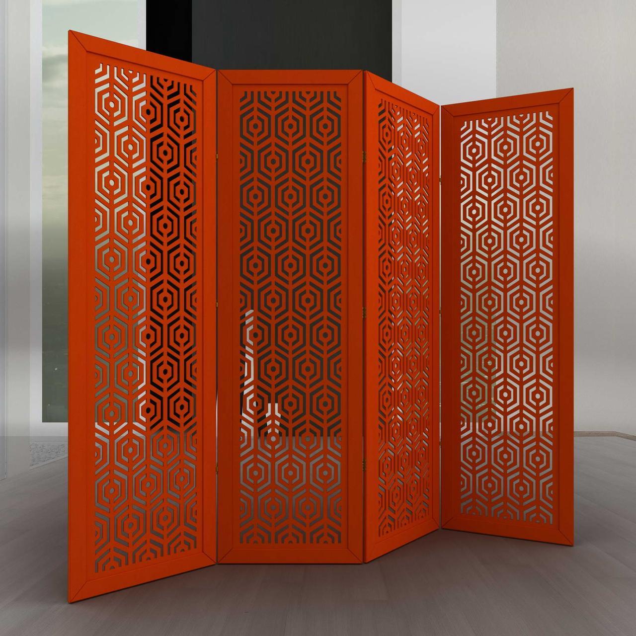 Ширма ДекоДім Регіна на 6 секцій 360х170 см (DK25-12)