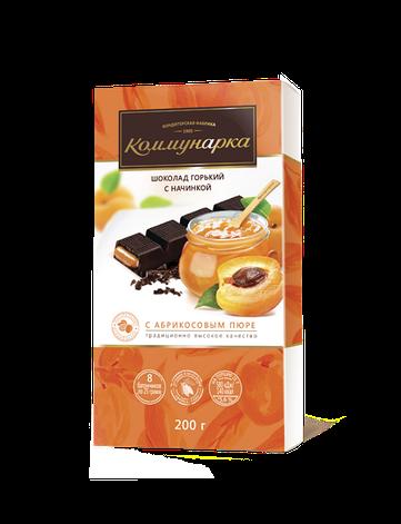 Шоколад  з абрикосовим пюре 200 г, фото 2
