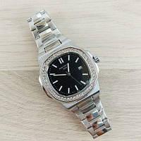 Часы наручные (в стиле) Patek Philippe Geneve серые-черные