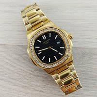 Часы наручные (в стиле) Patek Philippe Geneve золотые-черные