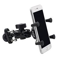 Тримач телефону WUPP, GPS для мото ( на руль + під дзеркало ) з USB, 12 - 30 В, 5 В
