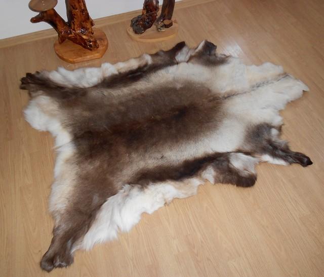 Шкура оленя (финского) смешанной раскраски