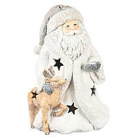 """Фигурка светящаяся """"Санта и помощник"""" 2 штуки (50 см)  025ND"""