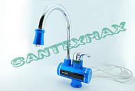 Водонагреватель проточный для кухни или умывальника, проточник Mixxus Electra 240-E Blue