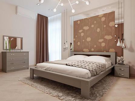 Двоспальне ліжко НеоМеблі Сакура 160х200 (NM29/200), фото 2