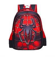Рюкзак детский ортопедический школьный портфель женский мужской чоловічий жіночий  Человек Паук