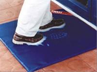 Коврик 50*100*3см СТАНДАРТ для дезинфекции рабочей обуви (Украина), стандарты ISO и ДСТУ