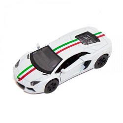 "Машинка KINSMART ""Lamborghini Aventador LP 700-4"" (белая)  sco"