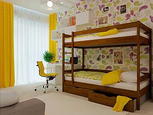 Двоярусне ліжко НеоМеблі Твікс 80х200 (NM33/200), фото 2
